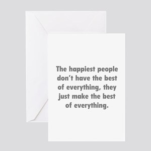 Make The Best Of Everything Greeting Card
