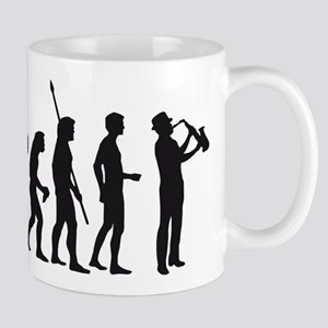evolution saxophone Mug