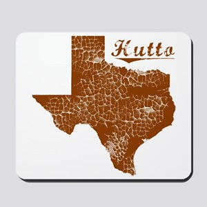 Hutto, Texas (Search Any City!) Mousepad