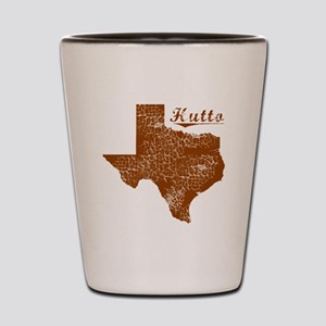 Hutto, Texas (Search Any City!) Shot Glass