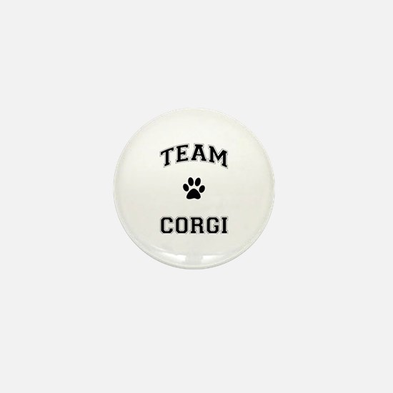 Team Corgi Mini Button