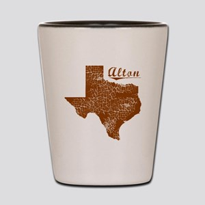 Alton, Texas (Search Any City!) Shot Glass
