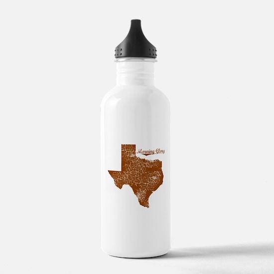 Morning Glory, Texas. Vintage Water Bottle