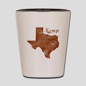 Kemp, Texas (Search Any City!) Shot Glass
