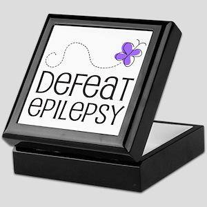 Defeat Epilepsy Keepsake Box