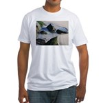 Down by the Seashore Fitted T-Shirt