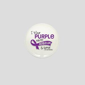 I Wear Purple 42 Lupus Mini Button