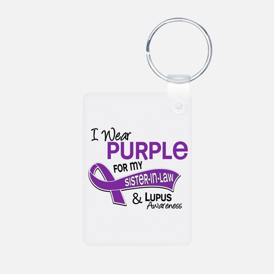 I Wear Purple 42 Lupus Keychains