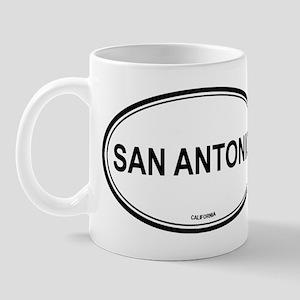 San Antonio oval Mug