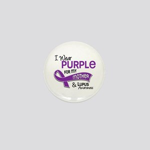 I Wear Purple 42 Lupus Mini Button