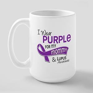 I Wear Purple 42 Lupus Large Mug