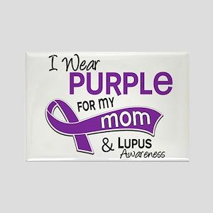 I Wear Purple 42 Lupus Rectangle Magnet