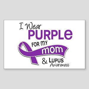 I Wear Purple 42 Lupus Sticker (Rectangle)