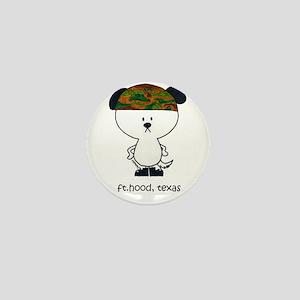 """Ft. Hood, TX"" Mini Button"