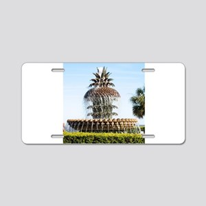 Charleston SC Waterfront Park Aluminum License Pla