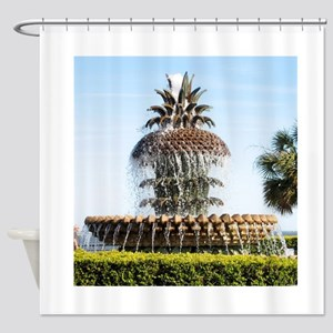 Charleston SC Waterfront Park Shower Curtain