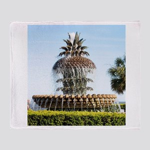 Charleston SC Waterfront Park Throw Blanket