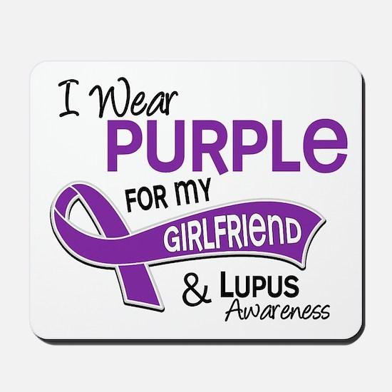 I Wear Purple 42 Lupus Mousepad
