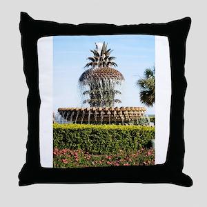 Charleston SC Waterfront Park Throw Pillow