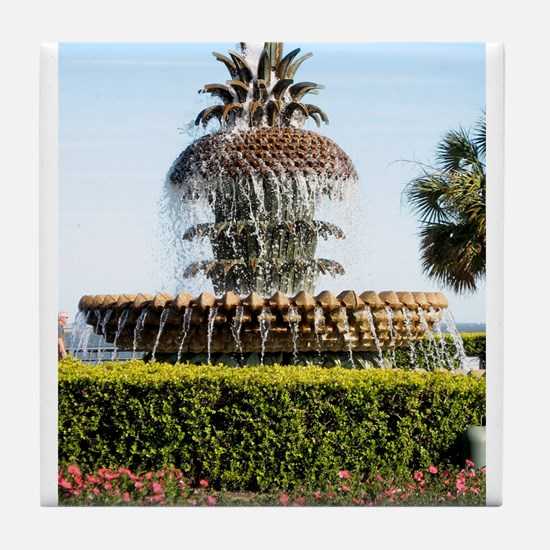 Charleston SC Waterfront Park Tile Coaster