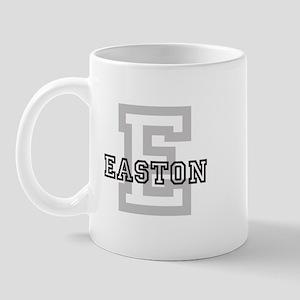 Easton (Big Letter) Mug