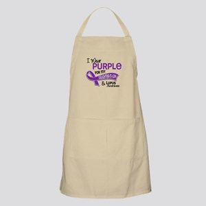 I Wear Purple 42 Lupus Apron