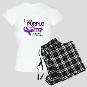I Wear Purple 42 Lupus Women's Light Pajamas