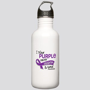 I Wear Purple 42 Lupus Stainless Water Bottle 1.0L