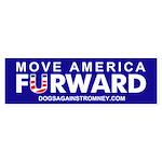 Official DAR Move America FURWARD sticker