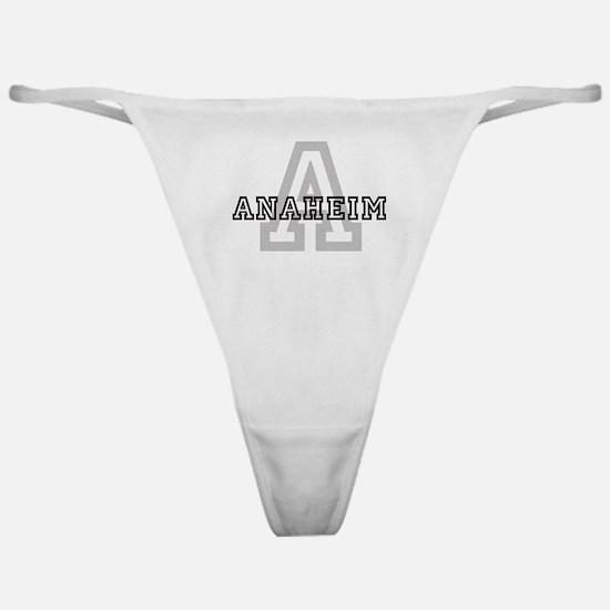 Anaheim (Big Letter) Classic Thong