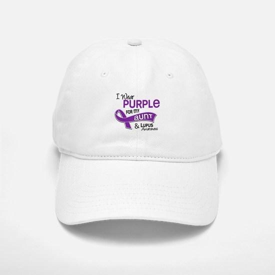 I Wear Purple 42 Lupus Baseball Baseball Cap