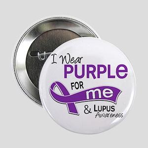 """I Wear Purple 42 Lupus 2.25"""" Button"""