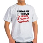 Im flexing and i know it Light T-Shirt