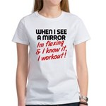 Im flexing and i know it Women's T-Shirt