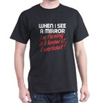 Im flexing and i know it Dark T-Shirt
