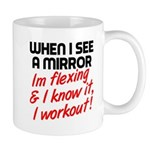 Im flexing and i know it Mug