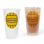 Water Polo Drinking Glass