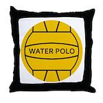 Water Polo Throw Pillow