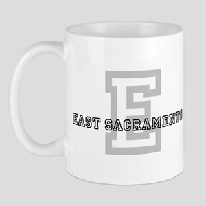 East Sacramento (Big Letter) Mug