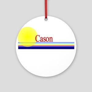Cason Ornament (Round)