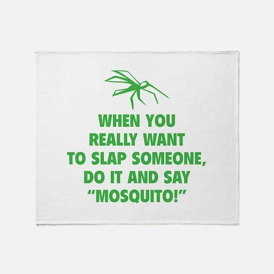 Mosquito Throw Blanket