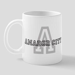 Amador City (Big Letter) Mug