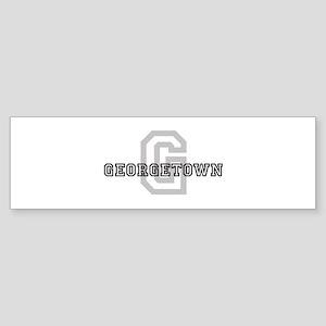 Georgetown (Big Letter) Bumper Sticker