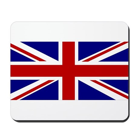 Union Jack Flag Mousepad