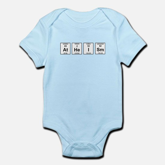 Atheism Element Symbols Infant Bodysuit
