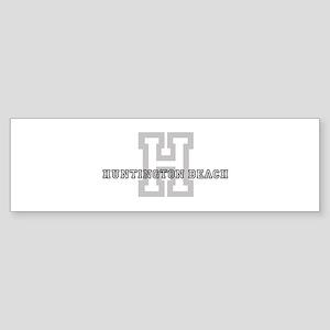 Huntington Beach (Big Letter) Bumper Sticker