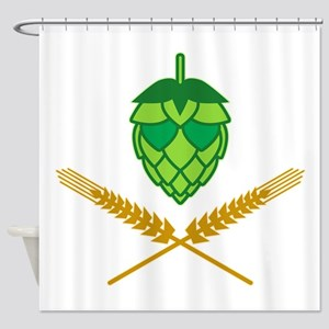 Pirate Hops Shower Curtain