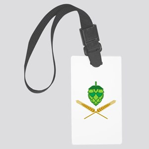 Pirate Hops Large Luggage Tag