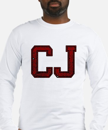 CJ, Vintage Long Sleeve T-Shirt