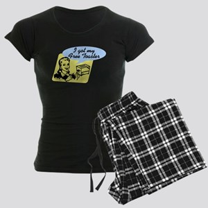 Free Toaster Women's Dark Pajamas
